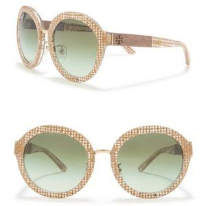 Tory Burch TY7128 54mm Round Sunglasses New $225